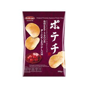 Koikeya potato chips Sweet & Sour pickled plum 100g