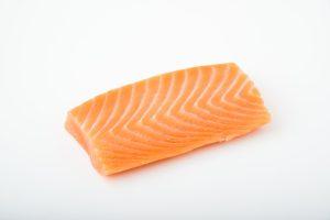 salmon sashimi block, saku