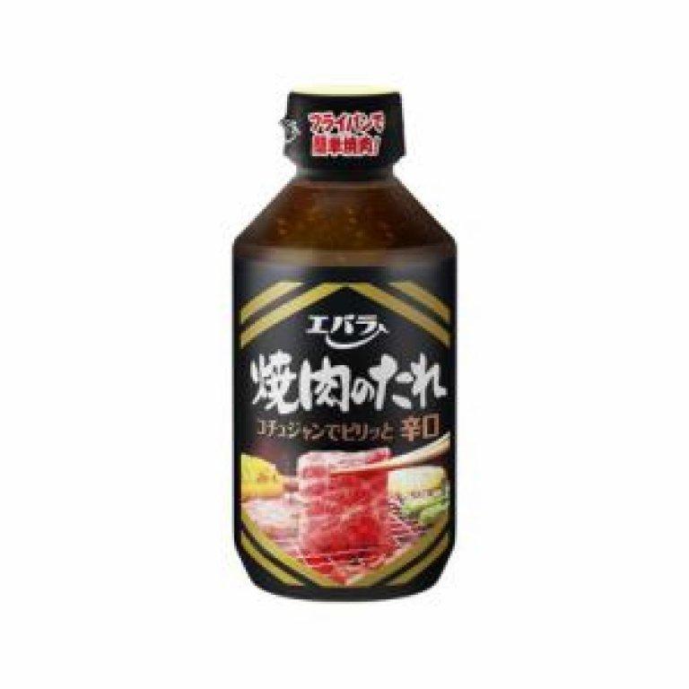 Ebara Japanese BBQ Source Yakiniku Karakuchi Sauce Hot 254ML