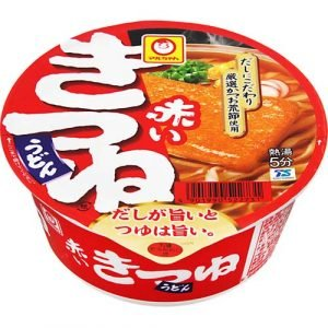 Maruchan Akai Kitsune Udon with Fried Tofu