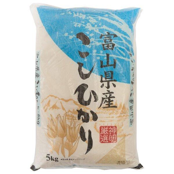 Shinmei Koshihikari Rice - Toyama, 5 Kg