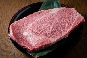 japanese marbled fatty wagyu ribeye beef
