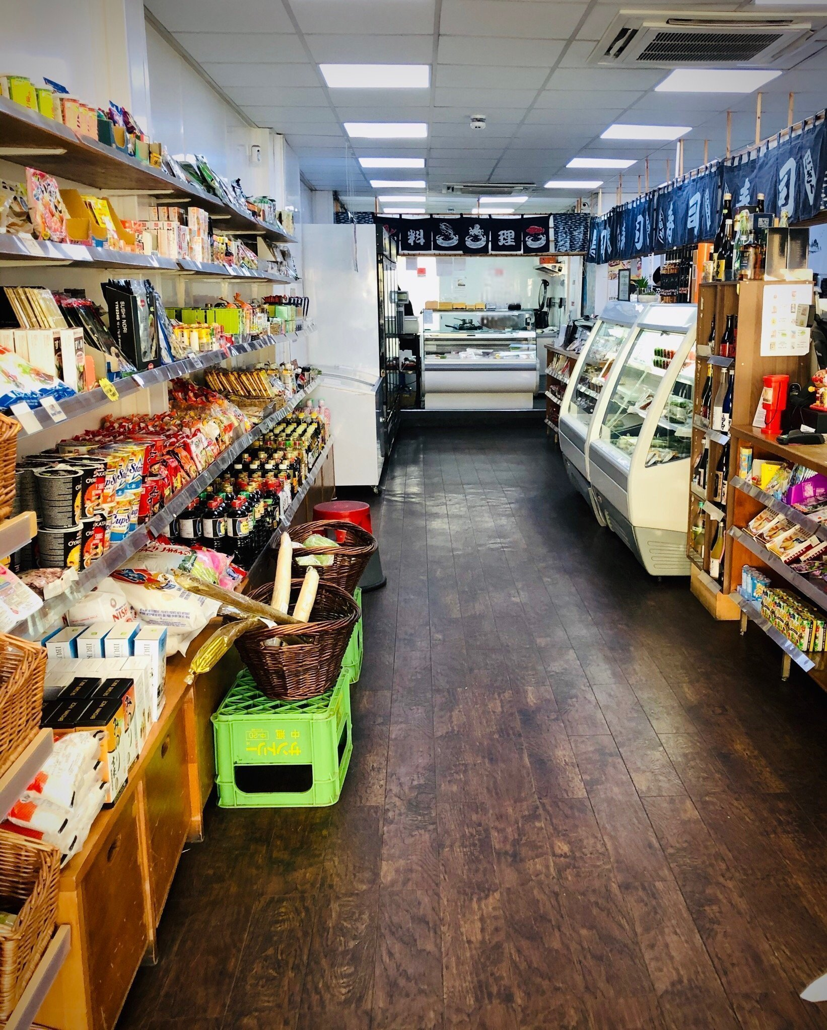Inside the Fresh Fish Store