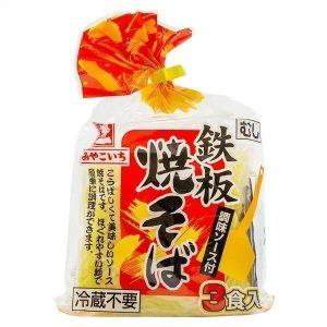 Teppanyaki Yakisoba with Sauce