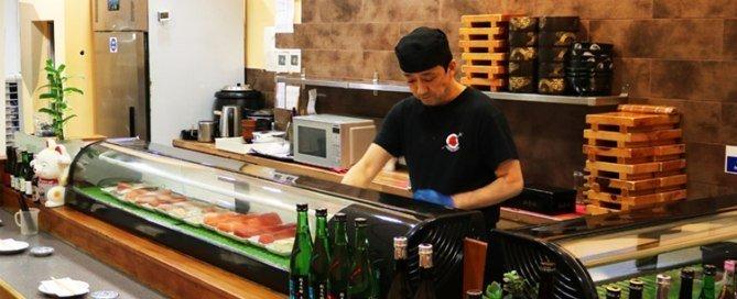 Atariya Meat Counter with Employee